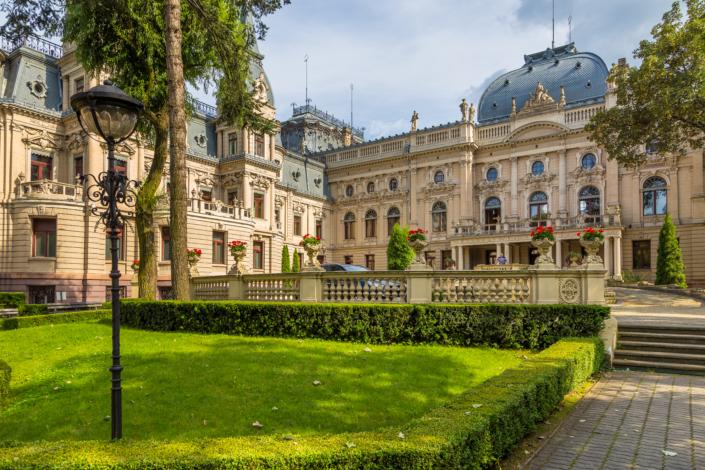 Izrael Poznanski's Palace Łodz